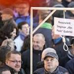 """""""Merkel-Galgen"""" dürfen verkauft werden"""
