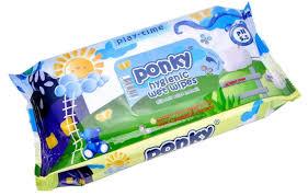 <b>Влажные салфетки Ponky детские</b>, 70 шт — купить в интернет ...