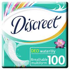 Женские ежедневные <b>прокладки DISCREET Deo</b> Water Lily ...