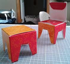free diy doll chair and table building doll furniture