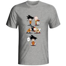 Kawaii Fusion <b>Saiyan T</b> Shirt Anime Dragon Ball Son Goku ...