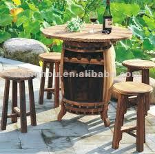 wine barrel outdoor furniture wine barrel furniture wine barrel furniture suppliers and manufacturers at alibabacom alpine wine design outdoor finish wine barrel