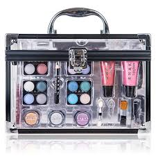 shany carry all trunk professional makeup kit eyeshadow pedicure manicure gift set at low s in india amazon in