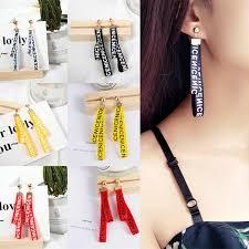 Hot sales Korea sweet <b>hollow</b> geometric <b>heart shaped love</b> earrings ...