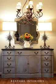 equal parts of chalk paint decorative paint by annie sloan in paris gray and chalk paint furniture