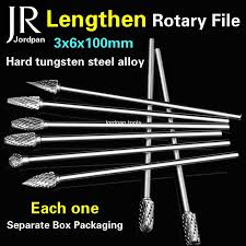 <b>1pcs</b> extended type 3x6x100mm cemented carbide rotary boring ...