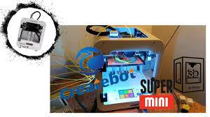 <b>Createbot</b> Super <b>Mini</b> 3D Printer - in Action - YouTube