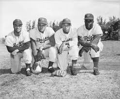 don newcombe stock photos and pictures getty images four brooklyn dodgers in 1950