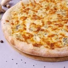 """<b>Пицца 4 сыра</b> на тонком тесте / <b>Классическая</b> пицца / Кафе """"La ..."""