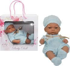 <b>Пупс 1TOY</b> Premium <b>Baby Doll</b> 25 см, Т15468, в голубом ...