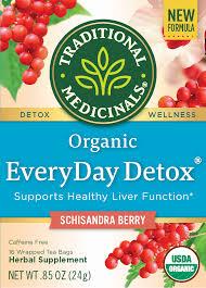 Traditional Medicinals, <b>Everyday Detox Tea</b> Bags, 16 Count ...