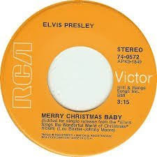 "<b>Elvis Presley</b> - <b>Elvis Presley</b> ""<b>Merry Christmas</b> Baby"" and ""O Come ..."