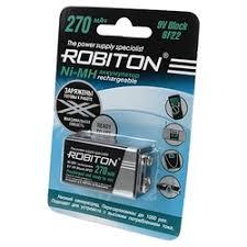 «<b>Аккумулятор КРОНА Robiton 270</b> mAh RTU270MH-1 BL1 13187 ...