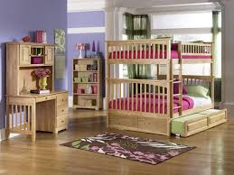 lovely cymax bunk beds made of wood with triple mattress on wooden floor plus wooden desk bunk bed desk trundle
