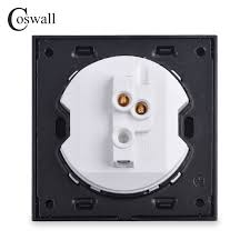 1 gang doorbell switch push button 10a 220v wall rocker door bell panel for home office hotel switches