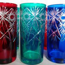 <b>Набор цветных стаканов</b> (6 шт) двухслойное стекло – купить в ...