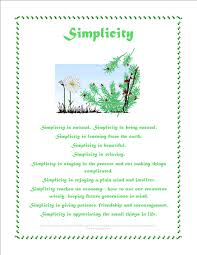 values posters simplicity children ages 8 14