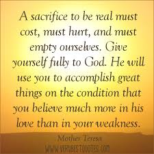 Inspirational Quotes About Sacrifice. QuotesGram