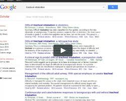 conducting a literature search in pubmed on vimeo