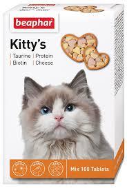 """<b>Лакомство</b> витаминизированное <b>Beaphar</b> """"Kitty's <b>Mix</b>"""" для кошек ..."""