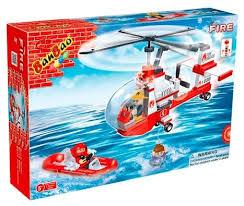 <b>Конструктор BanBao Пожарные</b> 8305 Маленький спасательный ...