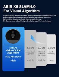 <b>ABIR X6 Robot Vacuum</b> Cleaner, Visual Navigation, APP Virtual ...