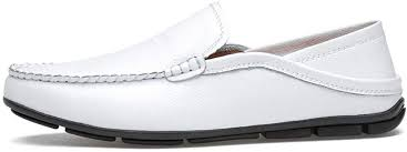 overself <b>Mens</b> Casual Shoes Leather <b>Summer Breathable</b> Penny ...