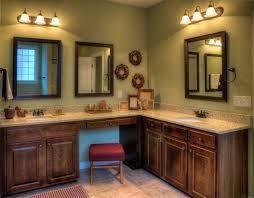 vanities double sink light