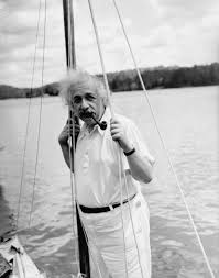 gpotd sail away albert facts about albert einstein 3 1936 photo professor albert einstein leans against the mast of his boat
