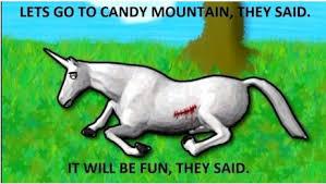 charlie the unicorn! - Imgur via Relatably.com