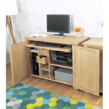 aston oak hidden home office chadwick satin lacquered oak hidden