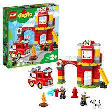 <b>Конструктор LEGO DUPLO Town</b> 10903 Пожарное депо, артикул ...