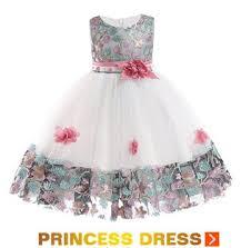 Baby <b>Embroidered Formal Princess Dress</b> for Girl Elegant Birthday ...