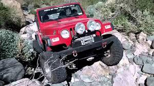 Jeep Rock Crawler Rock Crawler Red Jeep Wrangler Woodcutter39s Pass Jan 21 2012