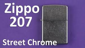 Распаковка <b>Zippo</b> Street Chrome 207 - YouTube