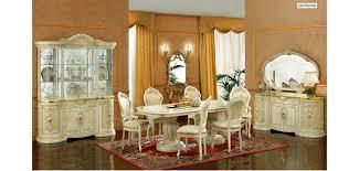 italian lacquer dining room furniture. leonardo ivory wood italian 7 piece dining set by camelgroup italy lacquer room furniture a