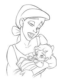 Small Picture Little Mermaid 2 Coloring Pages Melody Coloring Pages