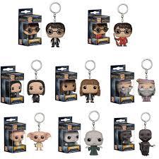 FUNKO POP <b>New Arrival Harry Potter</b> Pocket Keychain PVC Action ...
