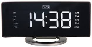 <b>Часы</b> с радио <b>MAX CR</b>-<b>2915</b>