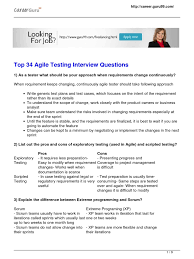 top agile testing interview questions answers bebasngomong com agile testing interview questions