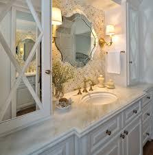 funky bathroom lights: unique bathroom mirrors knox bathroom gallery