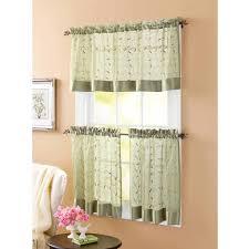 Kitchen Curtains At Walmart Kitchen Curtains Walmart Design Inspirations 4moltqacom