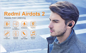 <b>Xiaomi Redmi</b> Airdots 2, Wireless Earbuds True Bluetooth 5.0 Deep ...