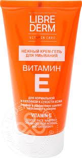 Купить <b>Крем</b>-гель для <b>умывания</b> Librederm <b>Нежный</b> Витамин Е ...