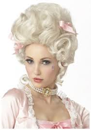 Marie Antoinette Wig. Product Description French Revolution got you down? That shouldn't stop you from having the best hair in the kingdom. - marie-antoinette-wig