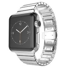 <b>New Style Stainless Steel</b> Buckle Metal Band For Apple Watch ...