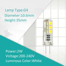 <b>220V</b> 2W 3W 5W 7W Bulbs Light G4 G9 E14 Small Bulb <b>SMD 2835</b> ...