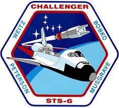 Space Shuttle Flight 6 (<b>STS</b>-<b>6</b>) National Space Society