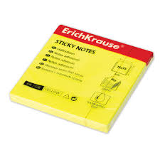 Купить <b>Блок самоклеящийся</b> (<b>стикер</b>) ERICH KRAUSE НЕОН ...