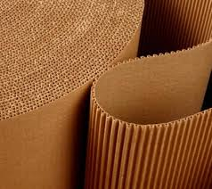 Image result for roll of corrugated cardboard for shipping